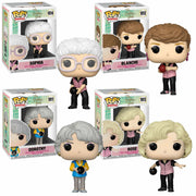 Golden Girls - Set of 4 in Bowling Uniforms Pop! Vinyl Figures by Funko