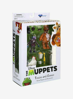 Muppets - Best of Series 1 - Gonzo and Fozzie Action Figure Set by Diamond Select