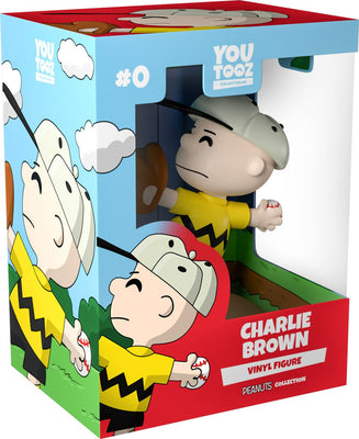 Peanuts - Charlie Brown Boxed Vinyl Figure by YouTooz Collectibles