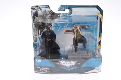 Batman The Dark Knight Rises-  Batman & Bane Mini  Collectible 2 Pack Set