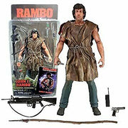 First Blood -  Rambo Survival  Action Figure by NECA