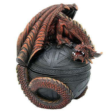 Red Dragon Celtic Box