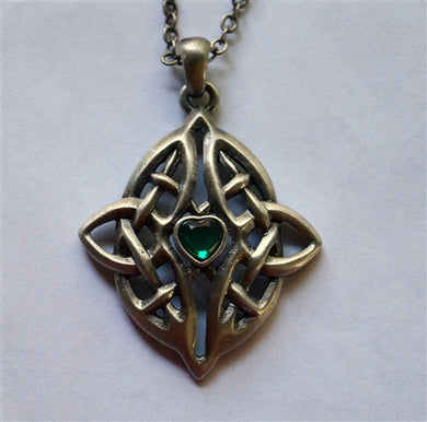 Greenheart Celtic Pendant