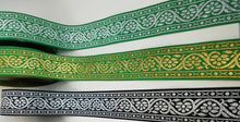 Reversible Floral Vine Jacquard Trim - 10 yards 1 1/2 inch sewing trim