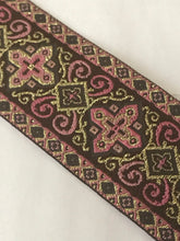 Vestment Cross Trim - Pink Renaissance Trim by the Yard