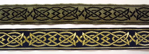 Saxon Knot Fabric Trim - 10 yard lot 1 inch Celtic Trim
