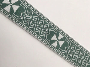 Celtic Cross Sewing Trim - 10 yards Reversible Jacquard Trim