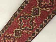 Vestment Cross Trim - Red Renaissance Trim by the Yard