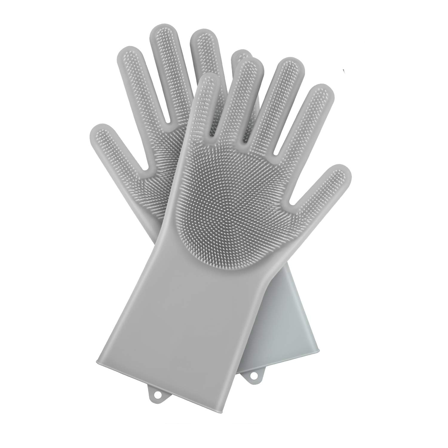 Magic Silicone Dish Washing Gloves (2 Piece)