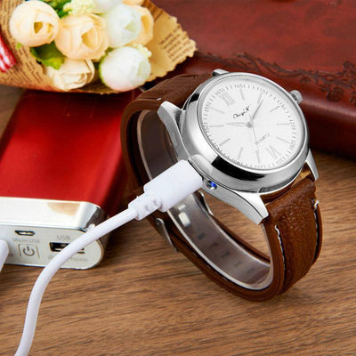 Digital USB Lighter Watch - Shop Square