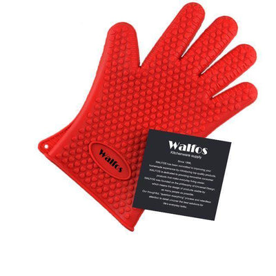 Heat-Resistant Silicone Kitchen Gloves - Shop Square
