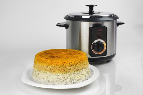 10 CUP Rice Cooker Automatic PARS - Rice Crust (Tahdig)Maker - (PoloPaz) DRC-240