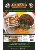 High Quality Ghormeh Sabzi Stew(Khoresh) Almas Canned (No Meat)(Ready to eat)(Sabzy)