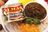 High Quality Ghormeh Sabzi Stew Almas Canned (No Meat)(Ready to eat)(Sabzy)