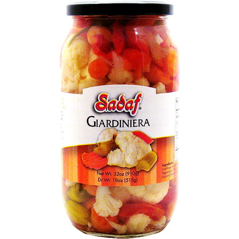 Giardiniera Sadaf Imported (Shoor)(Mixed Pickles)
