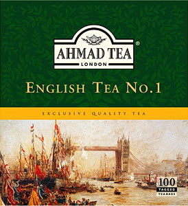 Ahmad English Tea No. 1 (100 Tea Bags)(Chai)
