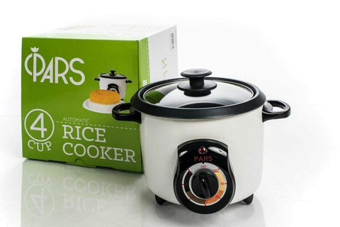 4 CUP Rice Cooker Automatic PARS - Rice Crust (Tahdig)Maker - (PoloPaz) DRC-210