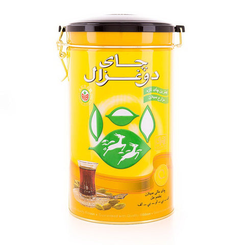 Super Ceylon Cardamom Gold Loose tea Tin Do Ghazal (Chai)