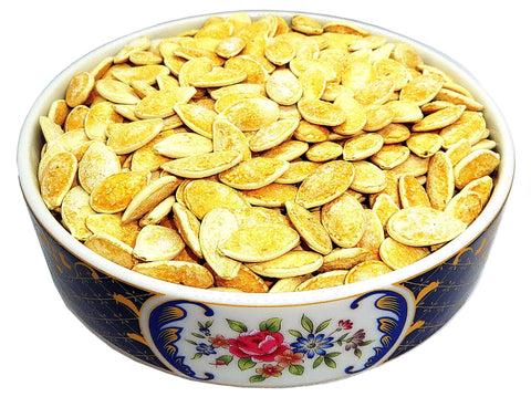 Pumpkin Seeds Roasted and Lightly Salted (Tokhmeh Kadoo)