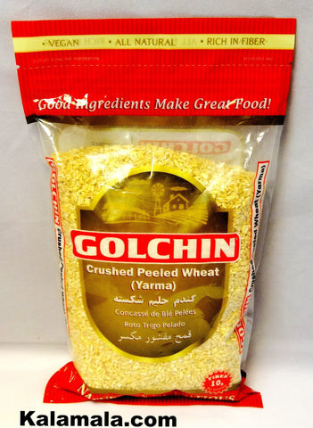 Crushed Peeled Wheat Golchin (Yarma)