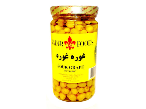 Sour Grape in Vinegar Nader Food (Ghoureh)(Ghooreh)