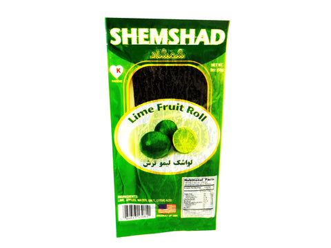 Lime Fruit Roll Shemshad (Lavashak e Limoo Torsh)