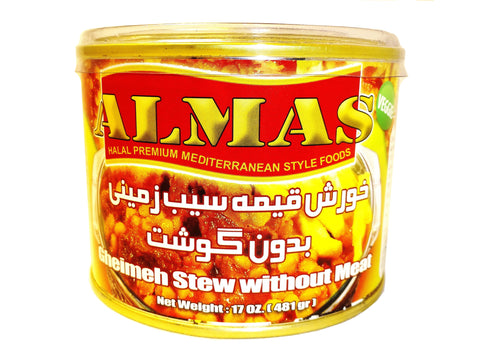 High Quality Gheimeh Stew(Khoresh) Almas Canned (No Meat)(Ready to eat)