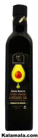 Estate Reserve Extra Virgin Avocado Oil Massimo Gusto (2 Packs)(0.5 Liter Each)