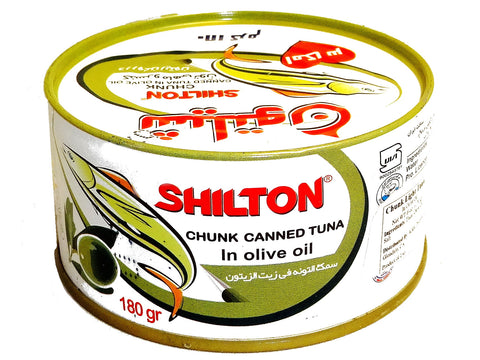 Chunk Canned Tuna in Olive Oil Shilton (Ton e Mahi) (Easy Open)