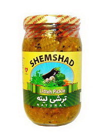 Litteh Pickle Shemshad (Fine Chopped Mixed Vegetable) (Torshi Liteh-Turshi)