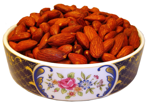 Fresh Best Quality Almonds Roasted Lemon Flavored (Badam Shoor)