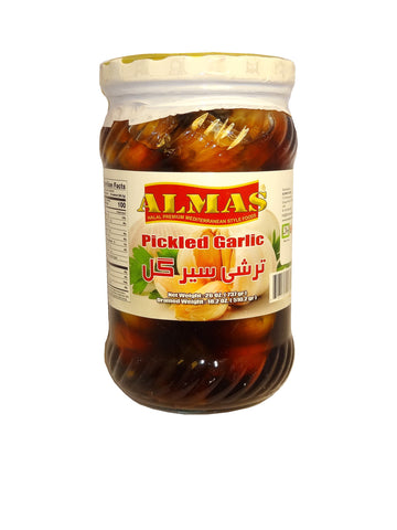 Pickled Garlic Almas (Sir Torshi-Turshi)