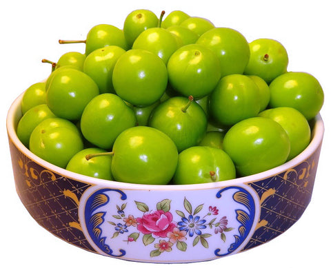 Fresh Sour Plum (2 Pounds) (PLEASE READ THE DESCRIPTION BELOW BEFORE ORDERING) (Goje Sabz)(Gojeh Sabz)
