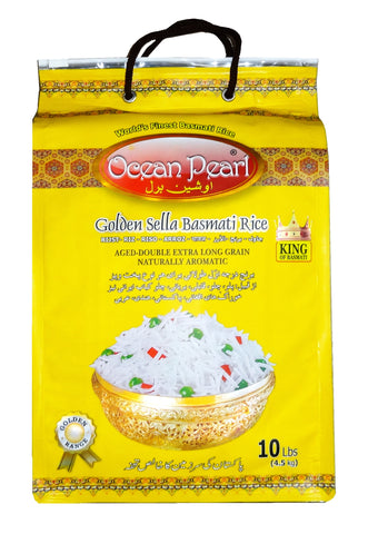 Golden Sella Basmati Rice Ocean Pearl (Berenj)