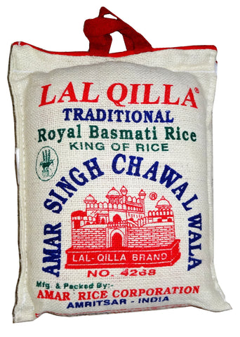 Traditional Royal Basmati Rice Lal Qilla (Berenj)