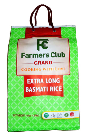 Extra Long Basmati Rice Farmer's Club Grand (Berenj)