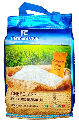 Extra Long  Basmati Chef Classic Farmers Club Rice(Berenj)