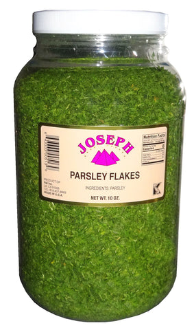 Fresh Parsley Flakes Joseph (10 Oz) (Jafari)