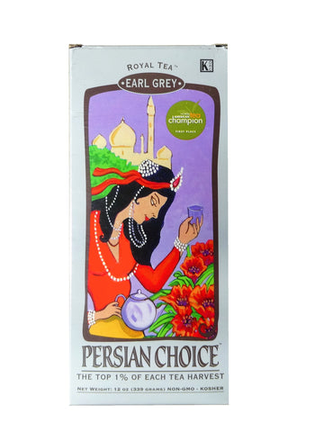 Royal tea Persian Choice (Earl grey-Loose) (Chai)