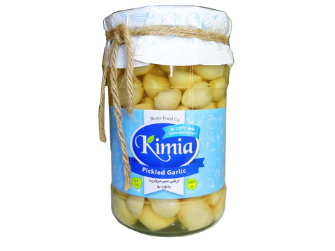 Odorless Pickled Garlic Kimia (Sir Torshi-Turshi)