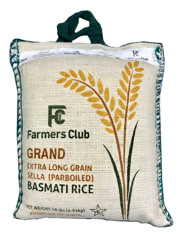 Extra Long Basmati Rice Sella(Parboiled) Farmer's Club Grand (Berenj)