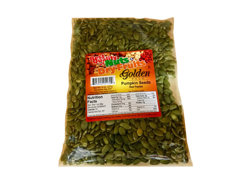 Pumpkin Seeds Raw Shelled (Tokhm e Kadoo)