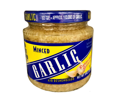Garlic Minced Jar Spice World (California grown)(Sir)