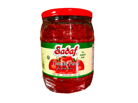 Tomato Paste Jar Sadaf (No Salt Added)(Rob E Gojeh Farangi)