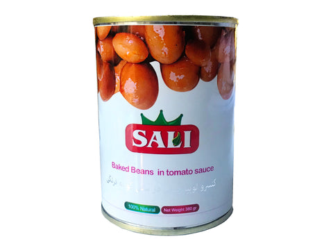 Baked Beans in Tomato Sauce Sali Canned(Loobia)(Loubia)