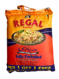 Extra Extra Sella Parboiled Basmati Regal Rice BUY ONE GET ONE FREE (Berenj e Dom Siah)