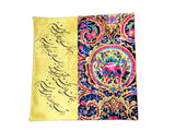 Beautiful Pillow/Cushion Case with printed Persian poem (Roo Baleshi)