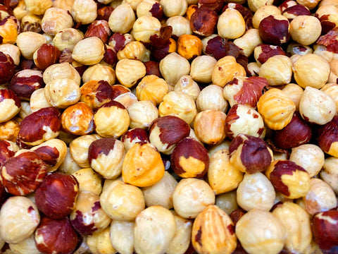 Fresh Best Quality California Roasted Hazelnut (Fandogh Shoor)