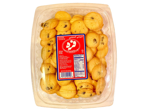 Raisin Cookie Fard (Keshmeshi)