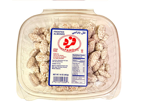 Frosted Almonds Fard (sugar Coated Almond)(Noghl)